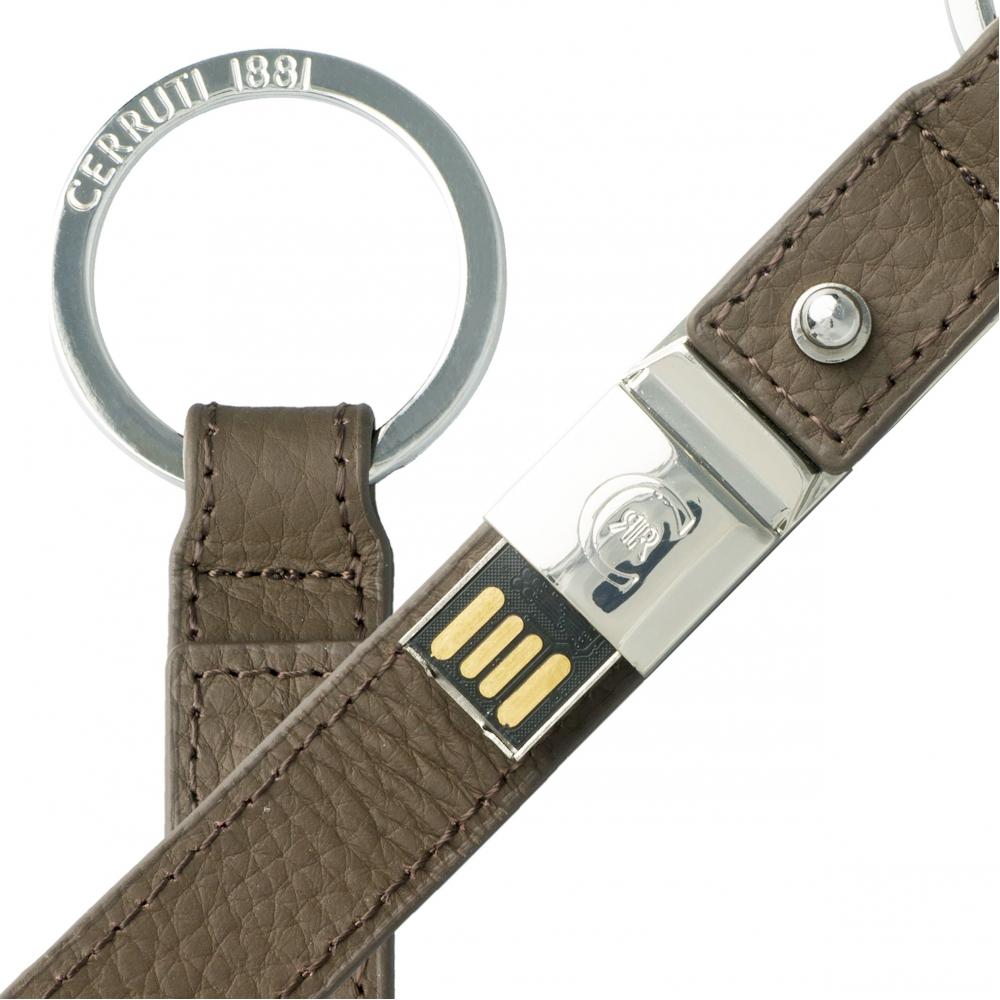 CERRUTI 1881 - Clé USB Hamilton Taupe