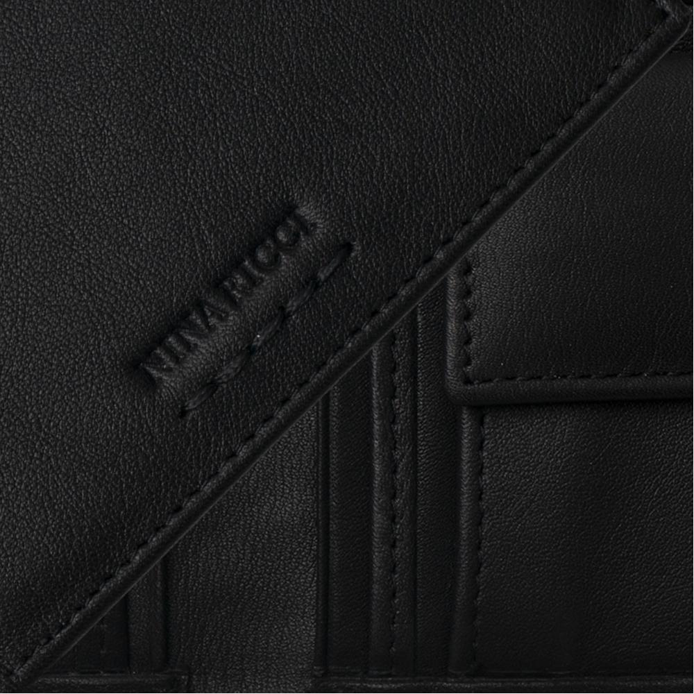 Nina Ricci - Porte-monnaie Sellier Noir